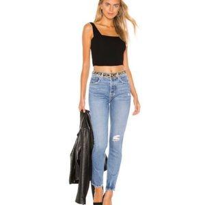 NWT GRLFRND Karolina Skinny & High waist jeans 28